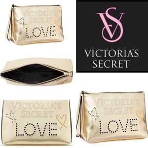 VICTORIA'S SECRET Love Perforated Beauty Bag
